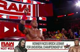 Bobby Lashley se enfrentará a Roman Reigns para determinar el rival de Brock Lesnar en WWE Summerslam