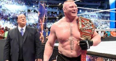 Brock Lesnar universal