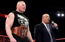 WWE noticias Brock Lesnar fuera de WWE