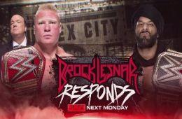 Brock Lesnar vs Jinder Mahal en Survivor Series