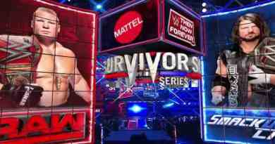 Brock Lesnar vs. AJ Styles Survivor Series 2017