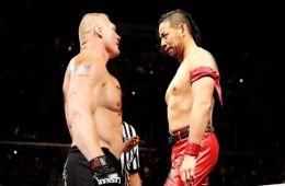 Brock Lesnar vs. Shinsuke Nakamura