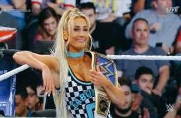 Carmella estaría fuera de los live shows de WWE este fin de semana