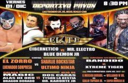 Cartel Lucha Elite 1ero Dic
