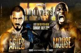 Cartelera actualizada de Impact Wrestling Slammiversary XVI
