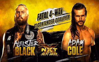 Combates de NXT para las próximas semanas