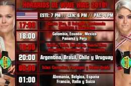 Como ver WWE Hell in a Cell 2018 en vivo y español y horarios