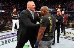 Dana White comenta sobre la posibilidad del combate entre Brock Lesnar y Daniel Cormier