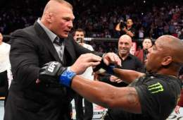 Dana White confirma el combate entre Brock Lesnar contra Daniel Cormier