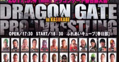Dragon Gate del 2 al 10 de septiembre