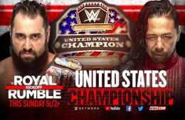 El campeonato de los Estados Unidos y el campeonato crucero estarán en juego en el kickoff de WWE Royal Rumble