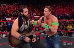 Elias habla de John Cena