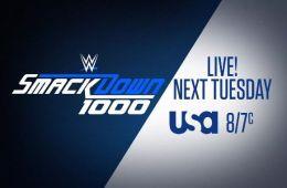Ex campeón Mundial de WWE estará en el SmackDown Live 1000