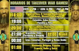 Horarios War Games