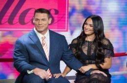 JTG asegura que John Cena está enamorado de Nikki Bella