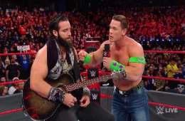 John Cena regresó RAW 25 Diciembre