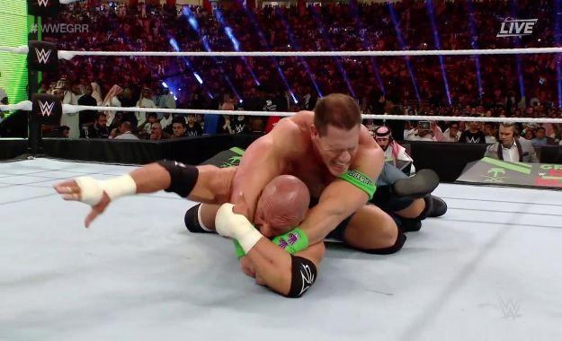 John Cena vence a Triple H en Greatest Royal Rumble