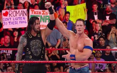 John Cena vs. Roman Reigns WWE No Mercy 2017