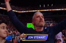 Jon Stewart aparece en WWE Summerslam 2018