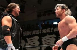Kenny Omega dice que un combate contra AJ Styles en Wrestlemania es la única forma de ir a WWE