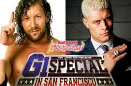 Kenny Omega vs. Cody para G1 Special en San Francisco