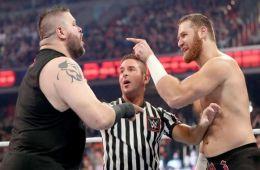 Kevin Owens vs Sami Zayn en Wrestlemania 34