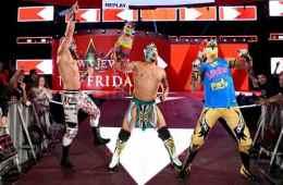La Lucha House Party hace su debut en WWE RAW