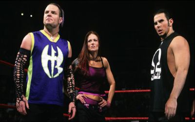 Lita con The Hardys cuando eran Team Xtreme