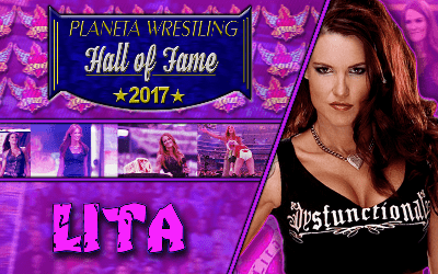 Lita Planeta Wrestling Hall of Fame