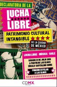 Lucha Libre declarada Patrimonio de la CDMX
