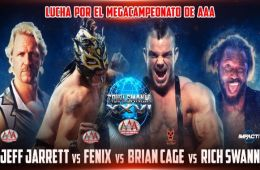 Lucha por el Megacampeonato en Triplemania XXVI