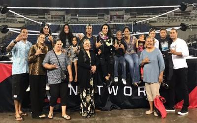 Luchadoras de WWE Tamina Hawaii
