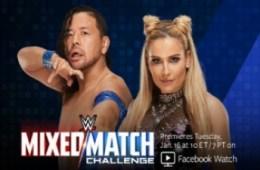 Mixed Match Challenge WWE Shinsuke Nakamura