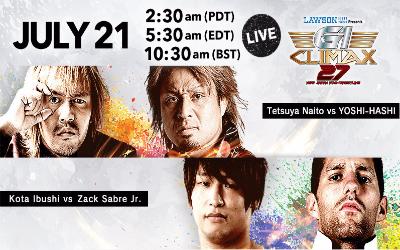 NJPW G1 Climax 27 21 Julio