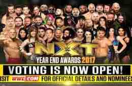 Los premios anuales de NXT serán presentados en NXT Take Over: Philly.