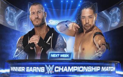 SmackDown Nakamura ante Randy Orton