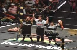 Niño Hamburguesa y Big Mami retienen los campeonatos por parejas mixtos en Triplemania XXVI