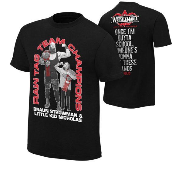 Nicholas ya tiene producto de merchandising en la WWE