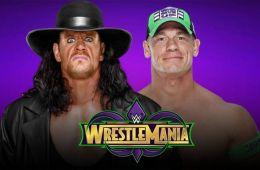 Novedades del estado del Undertaker vs John Cena en Wrestlemania 34