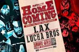 Nuevo combate anunciado para Impact Wrestling Homecoming