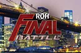 Nuevo combate anunciado para ROH Final Battle 2018