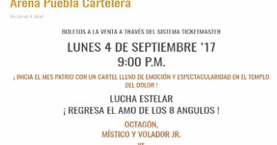 Octagón regresa al CMLL