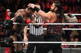Primeras apuestas para el combate de Roman Reigns contra Bobby Lashley en WWE RAW