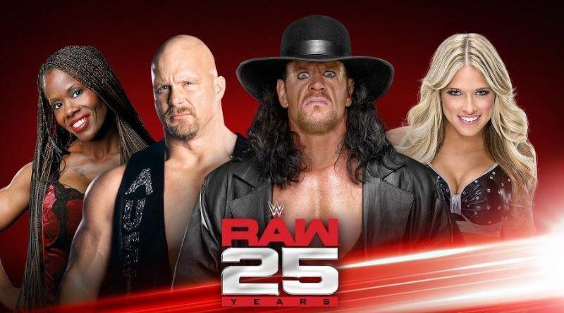 RAW25, llega la previa más esperada de Monday Night Raw, 22-01-18