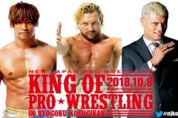 Resultados NJPW King of Pro-Wrestling 2018