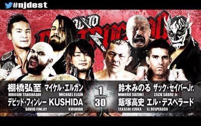 Resultados New Japan Pro Wrestling 14 Septiembre
