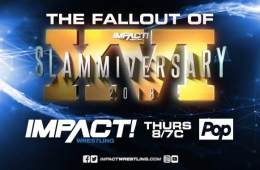 Resultados de las grabaciones de Impact Wrestling del 24 de Julio