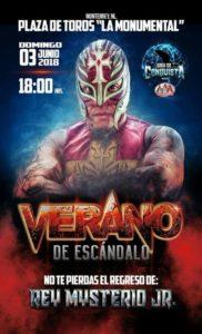Rey Mysterio Jr. regresa a Triple A en Verano de Escandalo
