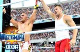Rob Gronkowski a WWE