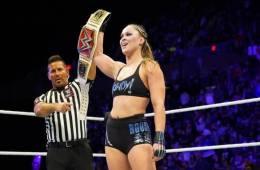 Ronda Rousey encabeza la lista PWI Women's 100 2018